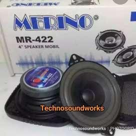 Speaker pintu mobil Coaxial 4 in Merino isi 2 pcs