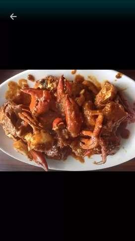 Chef seafood cari kerja