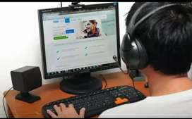 Call centre agents in model town required