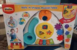 Brand new Activity table