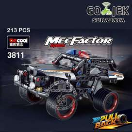 Blocks lego technic Mobil Jeep SUV Decool 3811 | Mainan Edukasi Anak
