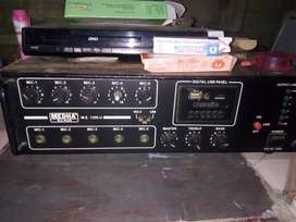 Medha amplifier 150watt  no any problem 200 box saport   money problem