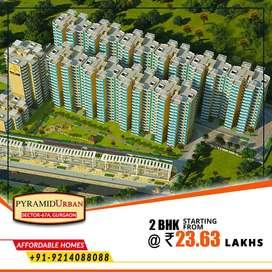 2 BHK - Affordable Homes   Pyramid Urban, Sector 67A, Gurgaon