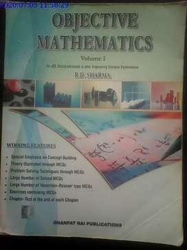 Rd sharma objective maths (volume-1+2)
