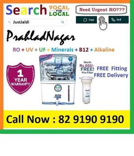 PrahladNagar1 AquaGrand RO Water Purifier Water Filter AC dth bed car