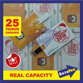 USB / Flashdisk Kartu Custom, Bentuk Model Card Cetak