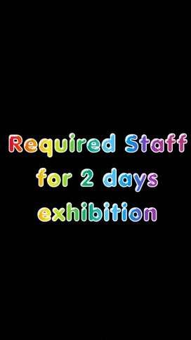 Need salesman , helper for 2 days in ahmedabad SG Highway