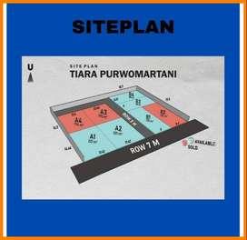 Dekat Candi Prambanan Ngaglik - Sleman Dijual Tanah