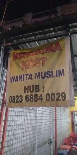 Kos Wanita Muslimah dekat Kampus UMSU
