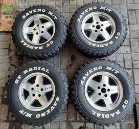 Ban Velg Peleg Jeep GT Radial Savero MT Ring 15 235/75 R15