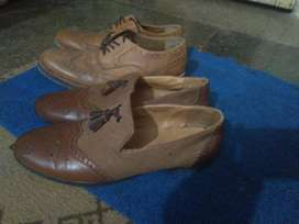 Oxford shoes, size is 42 number(8-9 number).