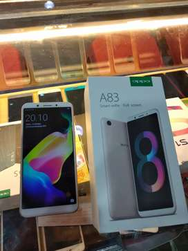 Second Oppo A83 3/32gb gold kondisi mulus