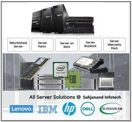 Server Workstation & Network Rental in Ahmedabad Hp Dell Lenovo IBM