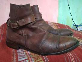 Sepatu Kulit Boot Russell Bromley Made in Italy Original Size 44