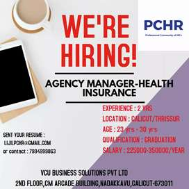 Agency Manager Health Insurance