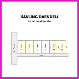 Jl. Daendels, Pleret, Luasan Ideal Harga Spesial: Cicil 12x