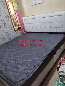 ready kasur busa tebal 20 cm central dan divan minimalis 160*200 cm