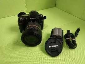 Kamera Nikon D90 Tamron 17-50mm