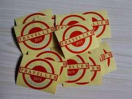 Sticker cutting