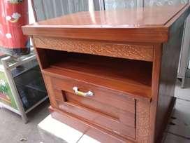rak tv atau tempat aquarium bahan papn kayu + triplek 3mm