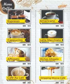 Paket COFFEE paling murah se INDONESIA bisa pake NAMA SENDIRI