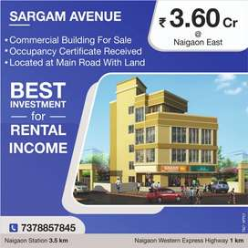 Commercial Building G+3Flr at Naigaon with OC.