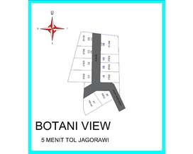 Kavling Luas 84 m2 Dekat Botani Square, Bisa Dicicil 12X
