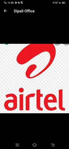 Airtel HR miss Mamta urgent requirement for back office executive