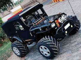 New creation of Jeeps modified