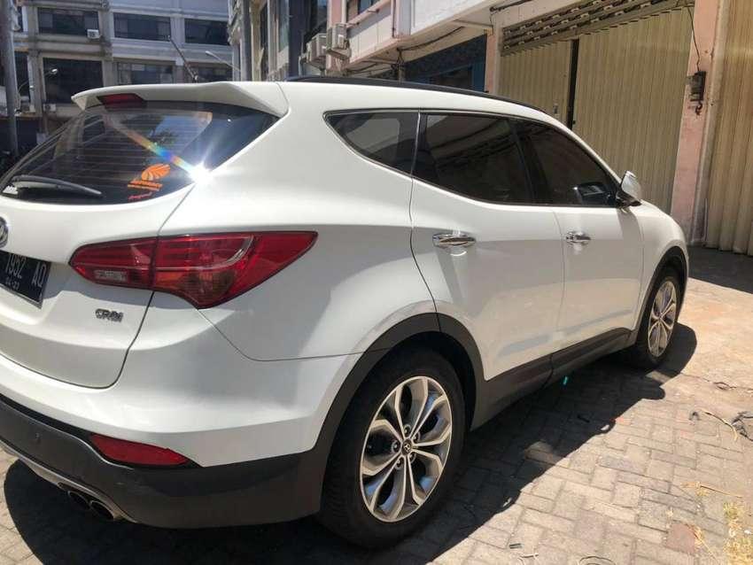 Hyundai Santa Fe CRDi 2013 Putih TERAWAT - FULL ORISINIL 0