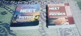 Dc pandey objective physics vol 1 and 2 for NEET