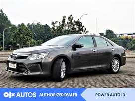[OLX Autos] Toyota Camry 2015 V 2.5 Bensin A/T Abu-Abu #Power Auto ID