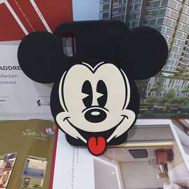 Case Silicone Berkarakter Boneka Micky Mouse iPhone Xs/X