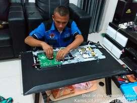 Servis service TV LED, LCD, Plasma. panggilan (bergaransi