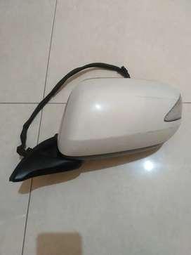 Spion Honda Jazz kiri putih metalik gen 8