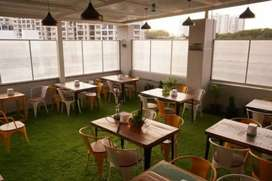 Furnished Cafe/shisha with roof top in prime location in Bhawanipore