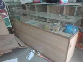 2 shop counters one old