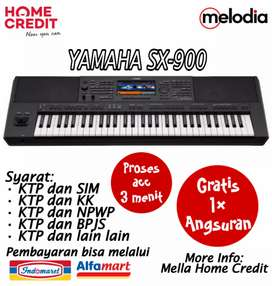 Promo Kredit Yamaha SX-900 Gratis 1× Angsuran di Melodia Musik