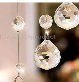 Crystal curtain (10 pcs)