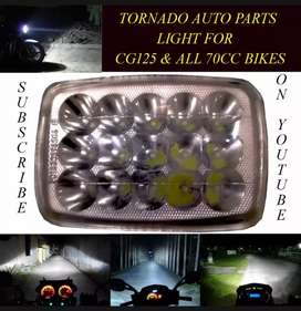 Head light 15 SMD White light for motorcycles