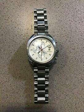 Emporio Armani Men's AR5958 Sport Silver Chronograph Dial Stainless