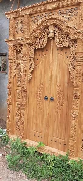 aspan cuci gudang pintu gebyok gapuro jendela rumah masjid musholla