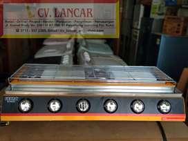 Pemanggang GETRA ET-K233 (6 Tungku) BBQ Burner GAS (FREE Ongkir)