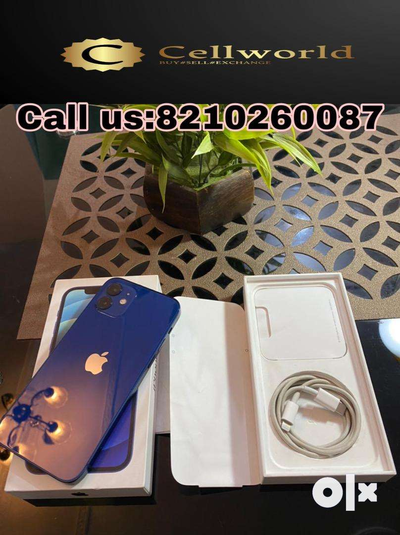 Iphone 12 128GB blue only 40 day used