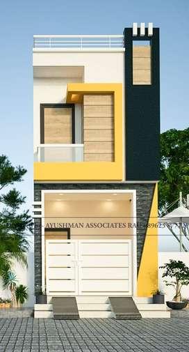 600 sqft house