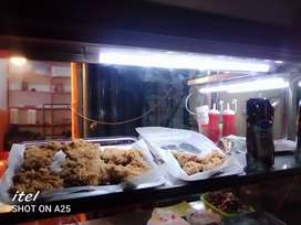 Fast food counter pure steal 6/2  2 friyer good condition for sale