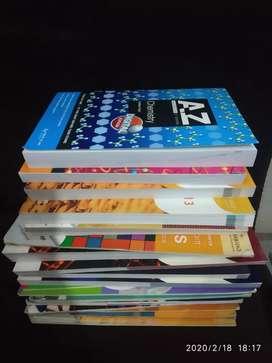 Cambridge paket buku SMA kelas 10/11, sebagian besar masih baru