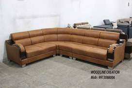 Brand New Cassiope Wooden Handle Sofa Set WDC-1130 Cushion back