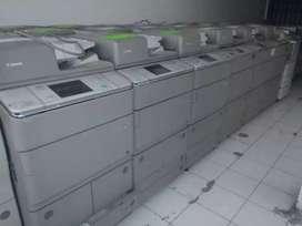 Mesin fotocopy digital multifungsi siap pakai