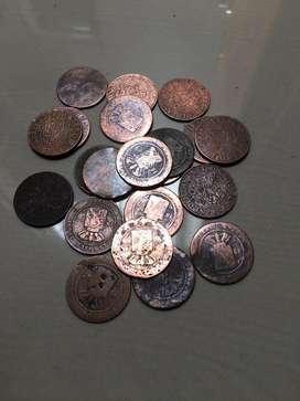 Uang koin 1 cent nederland indie!
